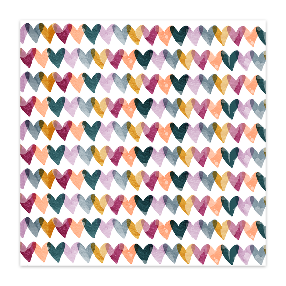 Paper | How Blessed | Bright 12x12 (single-sided)