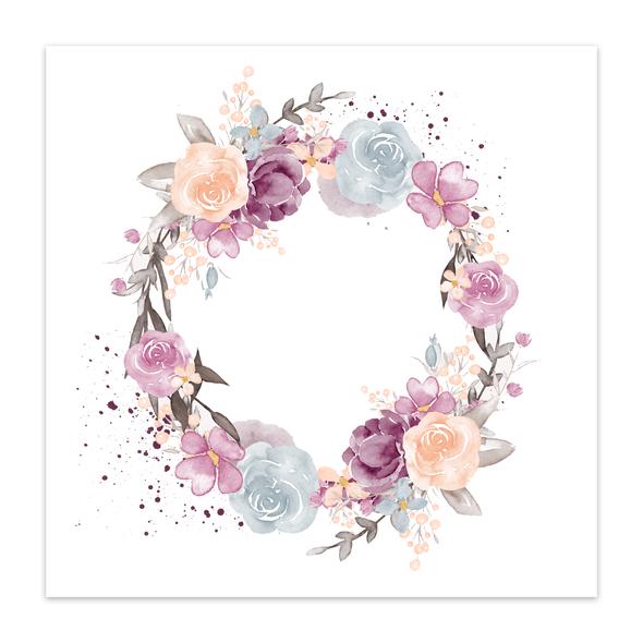 Paper | Seasonal Wreath 12x12 (single-sided)