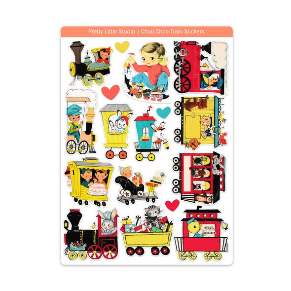 Stickers | Choo-Choo Train (vintage)