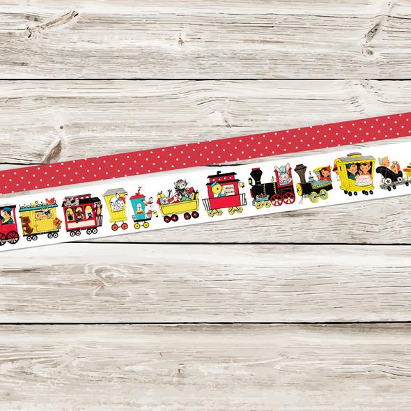 Stickers | Train Set Vintage (tape)