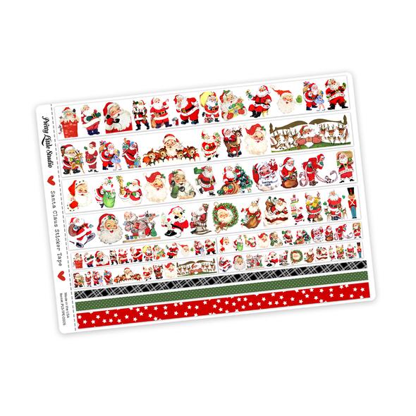 Stickers | Santa Claus Vintage (tape)