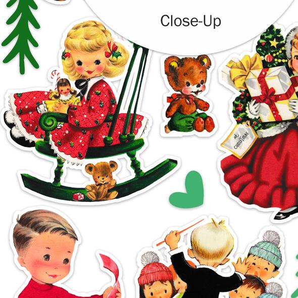 Stickers | Carol (vintage)