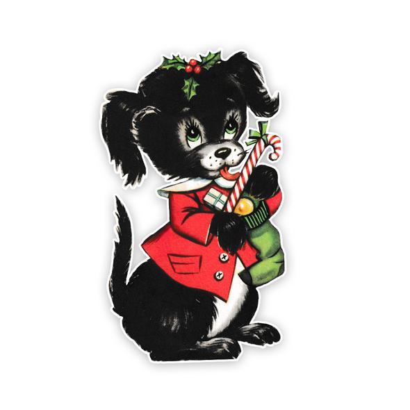 Vintage Die-Cut | Gumdrop Puppy