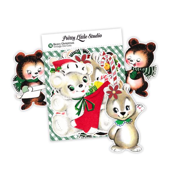 Die-cuts | Beary Christmas (pack)