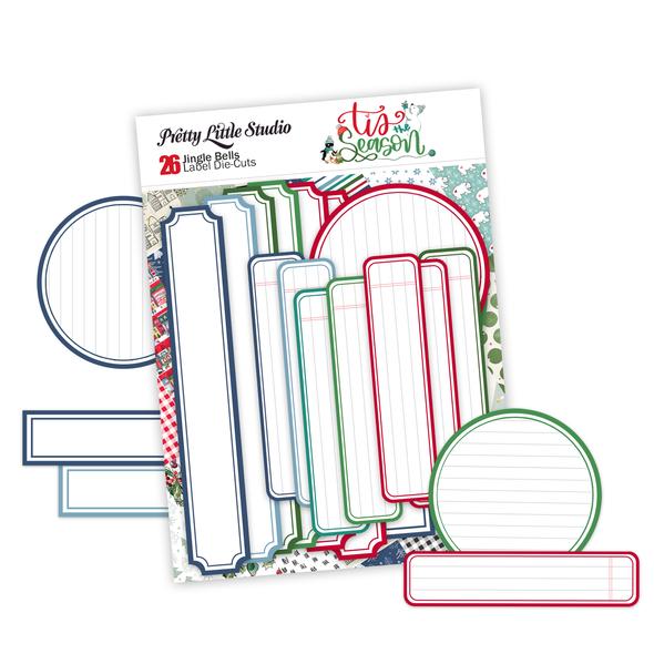 Pre-Order | Die-Cuts | Jingle Bell Labels