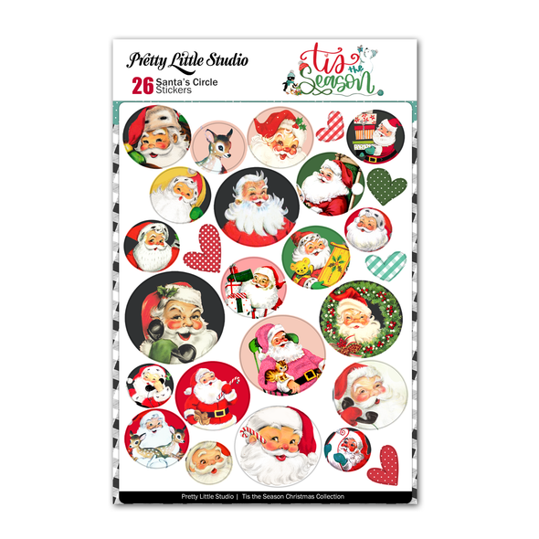 Pre-Order | Stickers | Santa's Circle