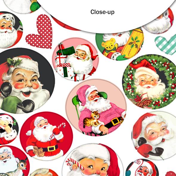 Stickers | Santa's Circle