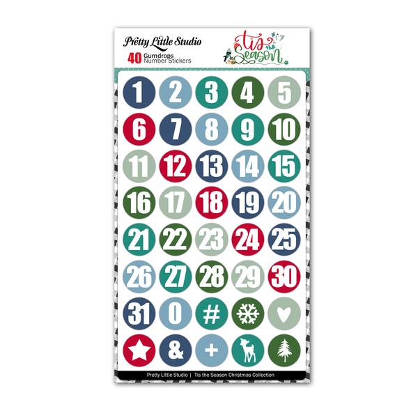 Pre-Order | Stickers | Gumdrops Numbers