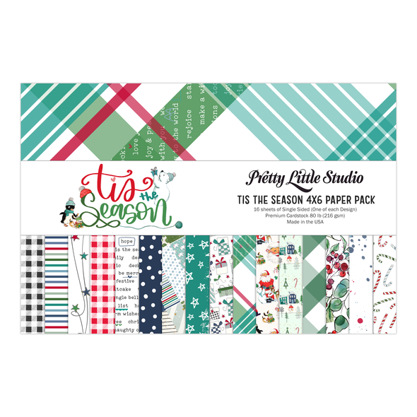 Pre-Order | Paper Pack | Tis The Season 4x6 (single-sided)