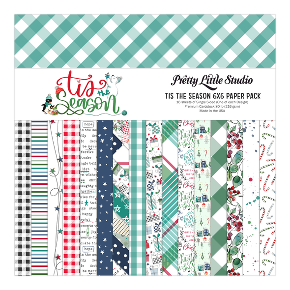 Pre-Order | Paper Pack | Tis The Season 6x6 (single-sided)