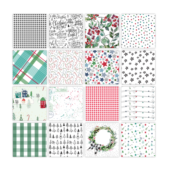 Pre-Order | Paper Pack | Tis The Season 12x12 (single-sided)