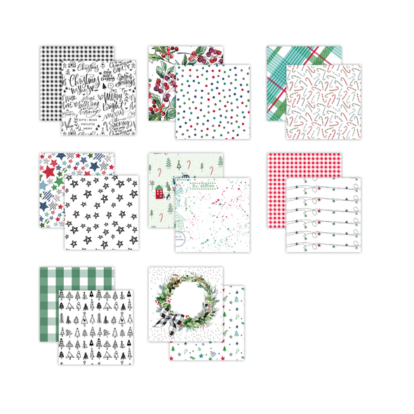 Pre-Order | Paper Pack | Tis the Season 12x12 (double-sided)