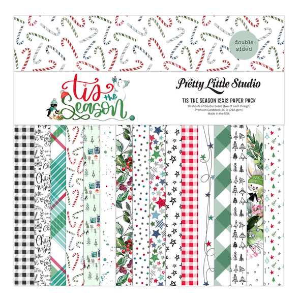 Paper Pack | Tis the Season 12x12 (double-sided)
