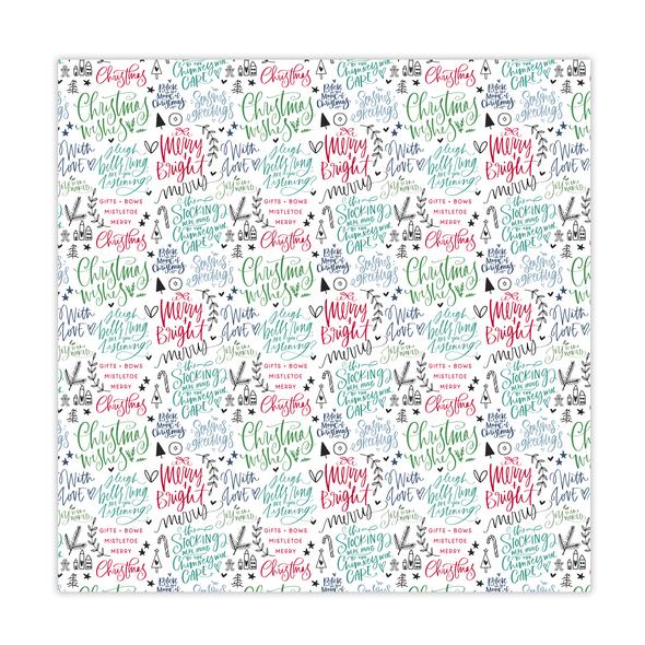 Vellum | Merry & Bright 8x8 | Color