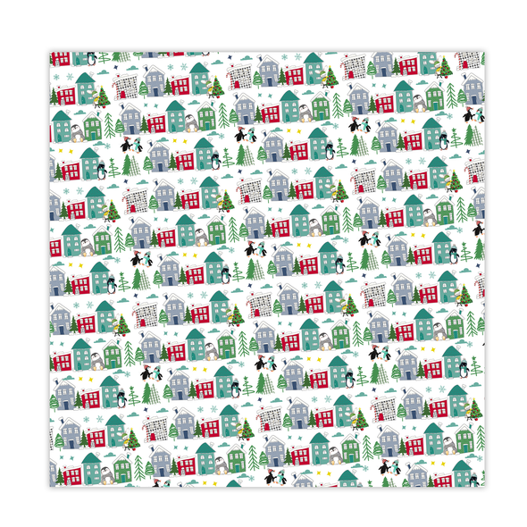 Paper | Christmas Town 12x12 (single-sided)