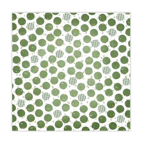 Paper | Mistletoe 12x12 (single-sided)