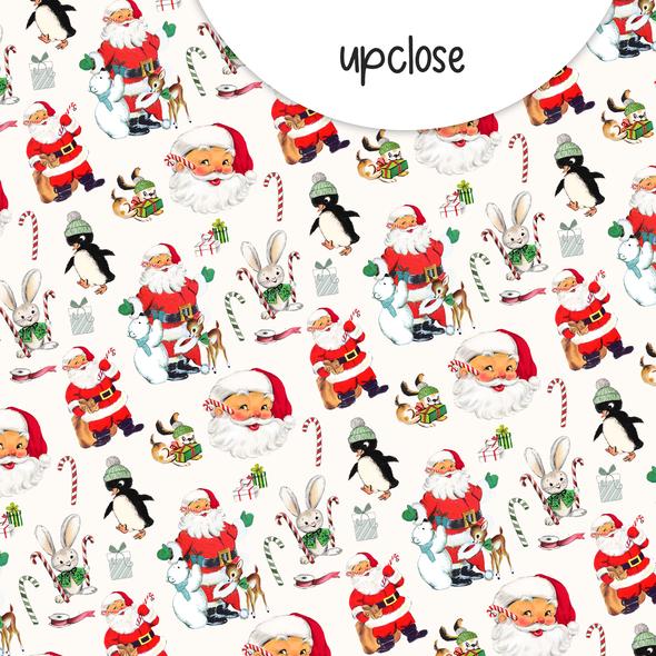 Paper | Santa Claus #2 | 12x12 (single-sided)