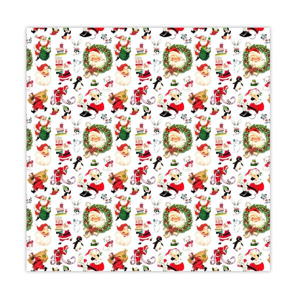 Paper | Santa Claus #3 | 12x12 (single-sided)