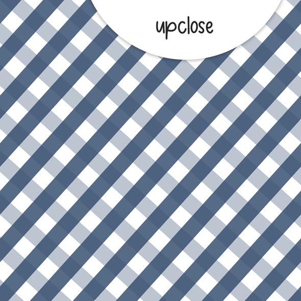 Paper | Tidings | Navy 12x12 (single-sided)