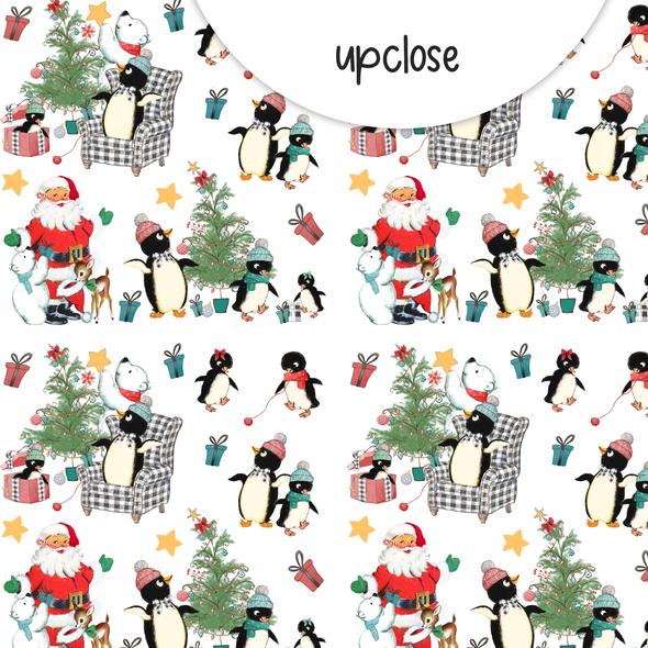 Paper | Christmas Morning 8x8