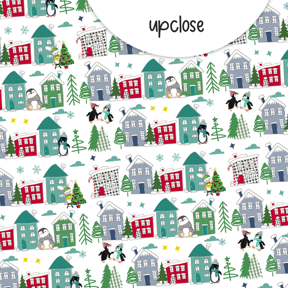 Paper | Christmas Town 8x8