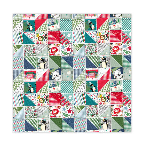 Paper | Quilted Throw 8x8