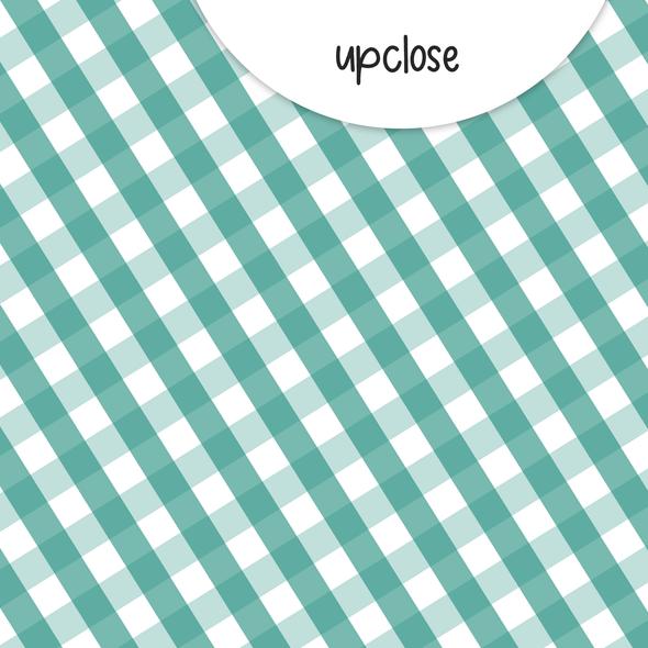 Paper | Tidings 8x8 | Teal