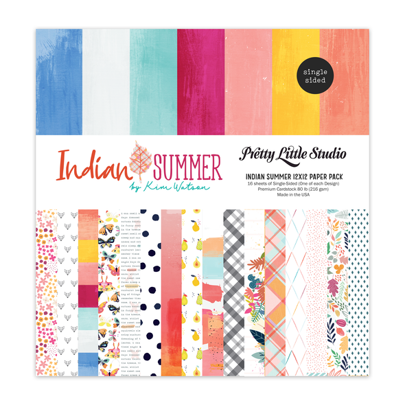 Paper Pack | Indian Summer 12x12 (Single-Sided)
