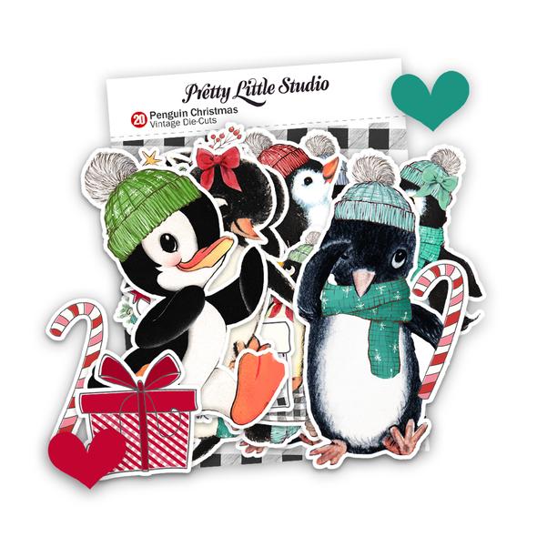 Pre-Order | Die-cuts | Penguin Christmas (pack)