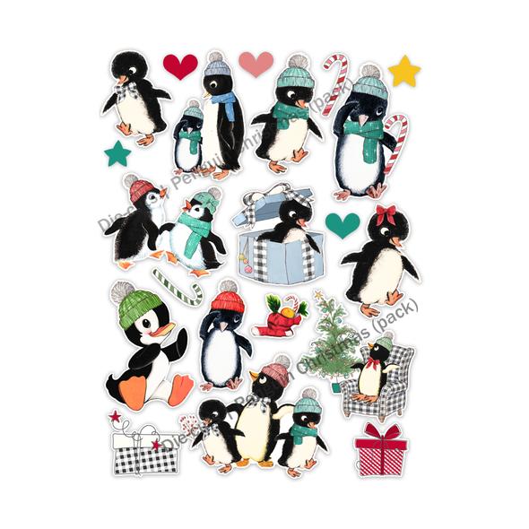 Die-cuts | Penguin Christmas (pack)