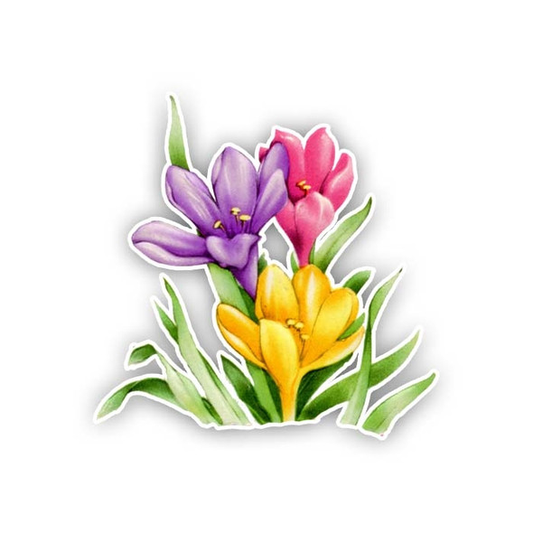 Vintage Die-Cut | Tulip