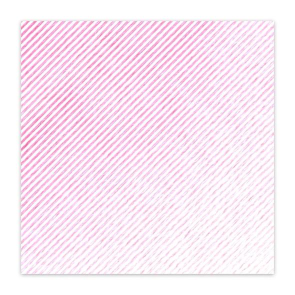 Vellum | Diagonal - Pink 8x8