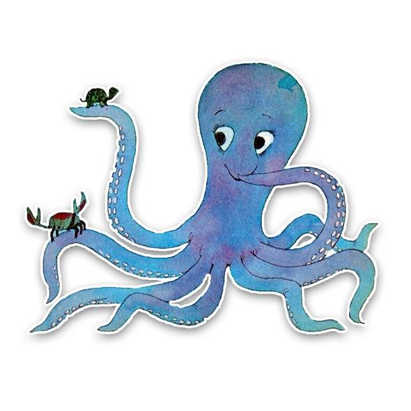 Vintage Die-Cut | Octavia Octopus