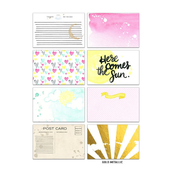 Journaling | Here comes the Sun 4x6