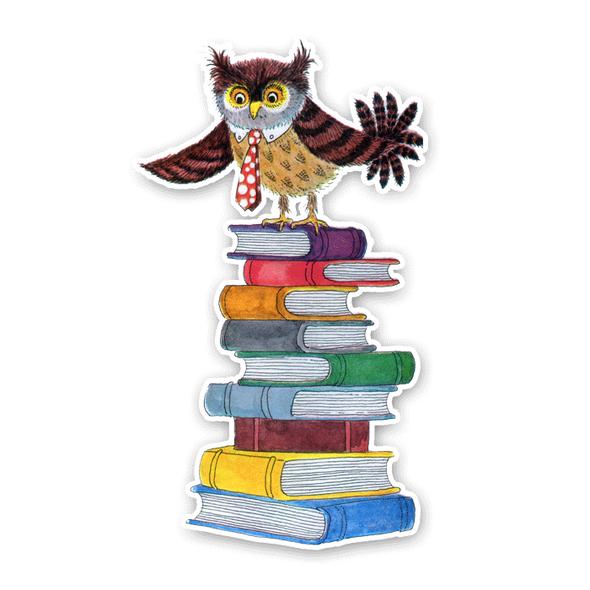 Vintage Die-cut | Ollie Owl