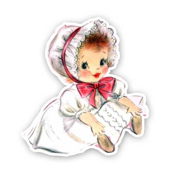 Vintage Die-Cut | Baby Melissa