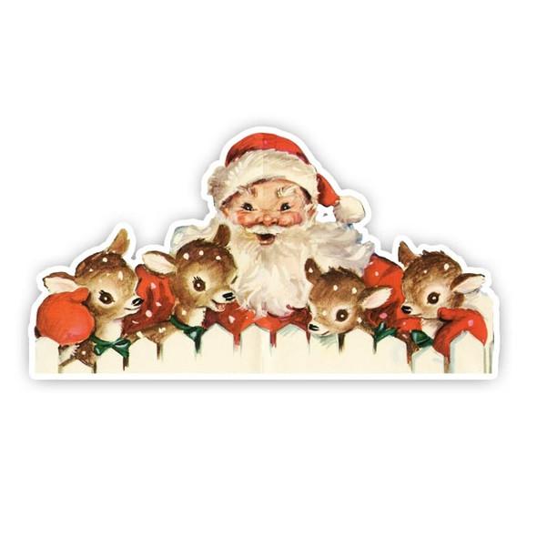 Vintage Die-cut | Santa #16