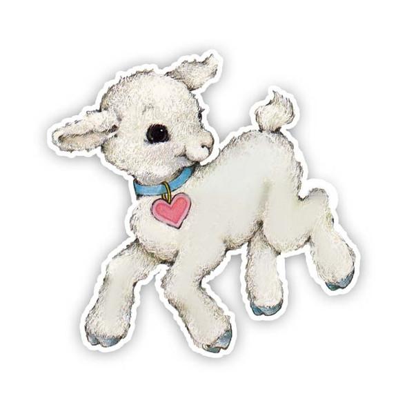 Vintage Die-Cut | Marshmallow Lamb
