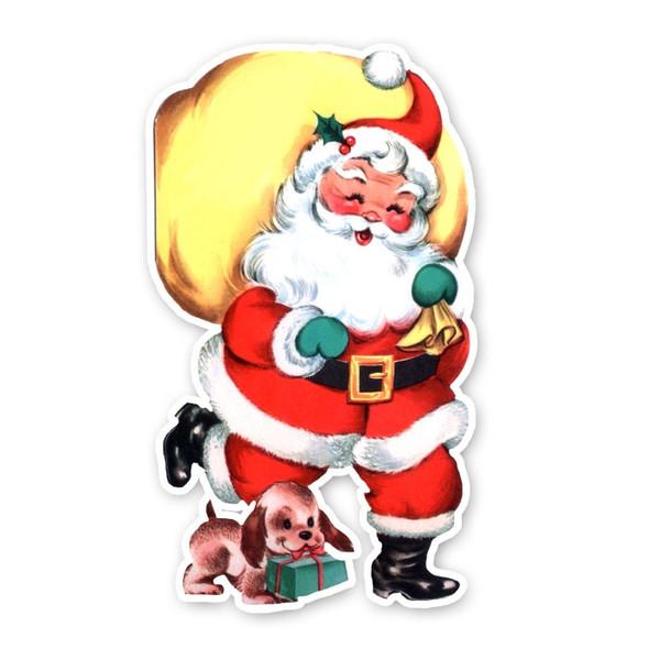 Vintage Die-Cut | Santa's Load