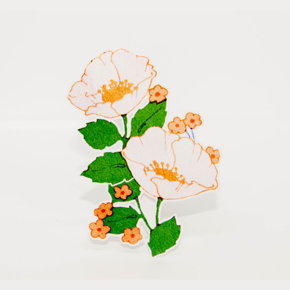 Vintage Die-Cut | California Poppy