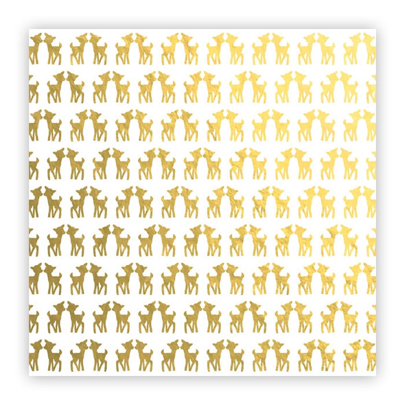Metallic Vellum | Prancer | Gold
