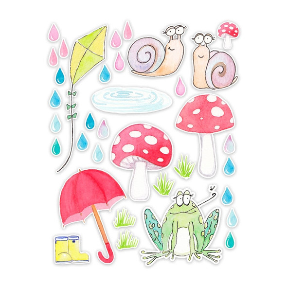 Die-Cuts | Rainy Day