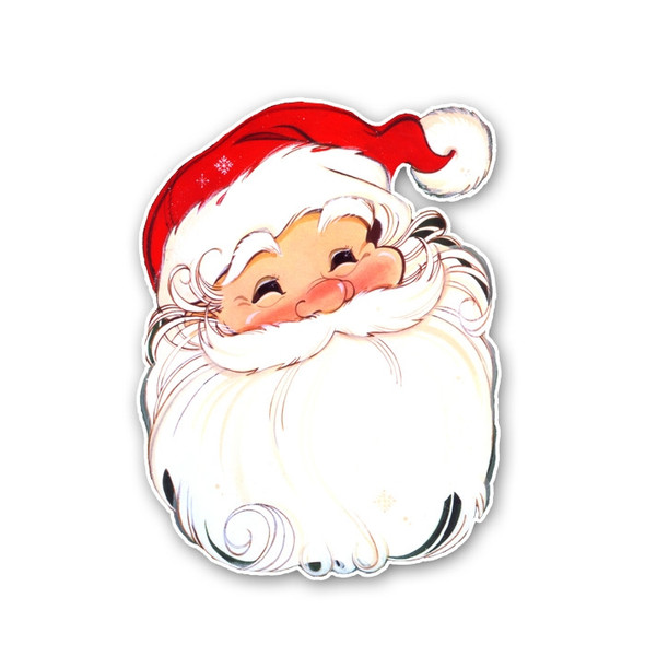 Vintage Die-Cut | Santa #8