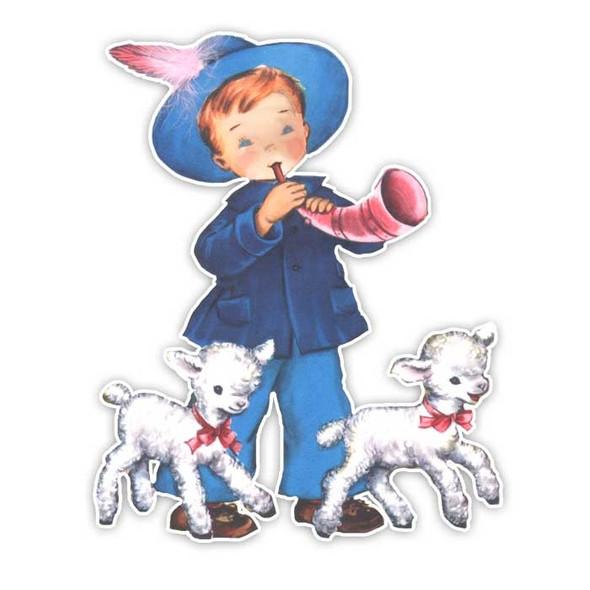 Vintage Die-Cut | Little Boy Blue #1