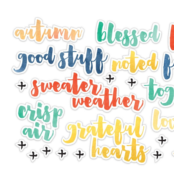 Die-Cuts | Fall Phrases