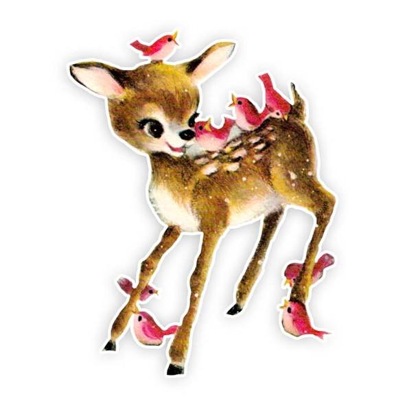 Vintage Die-Cut | Deer | Darby