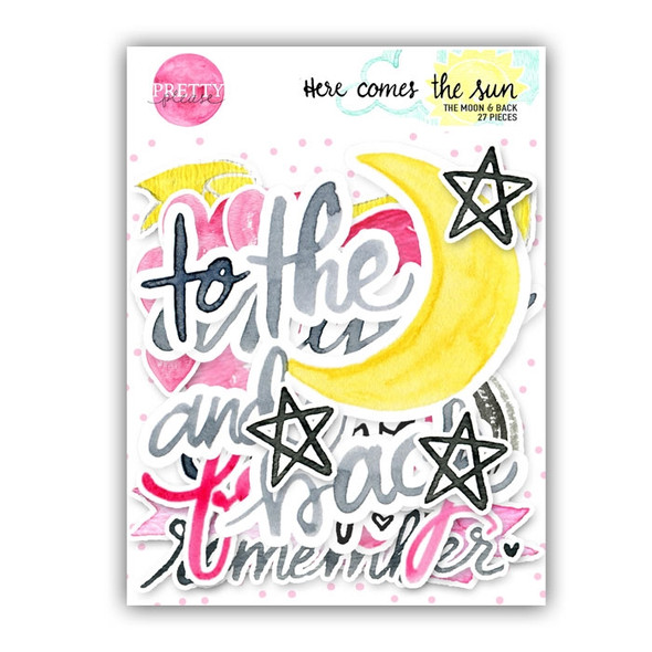 Die-Cuts | To the Moon and back
