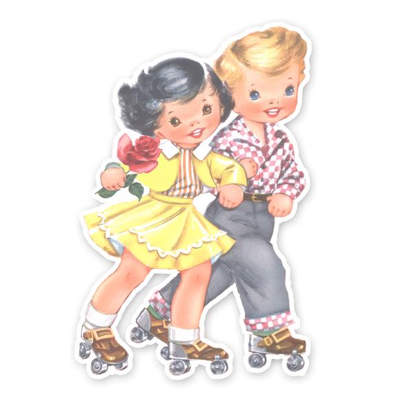 Vintage Die-Cut | Katie and Cole