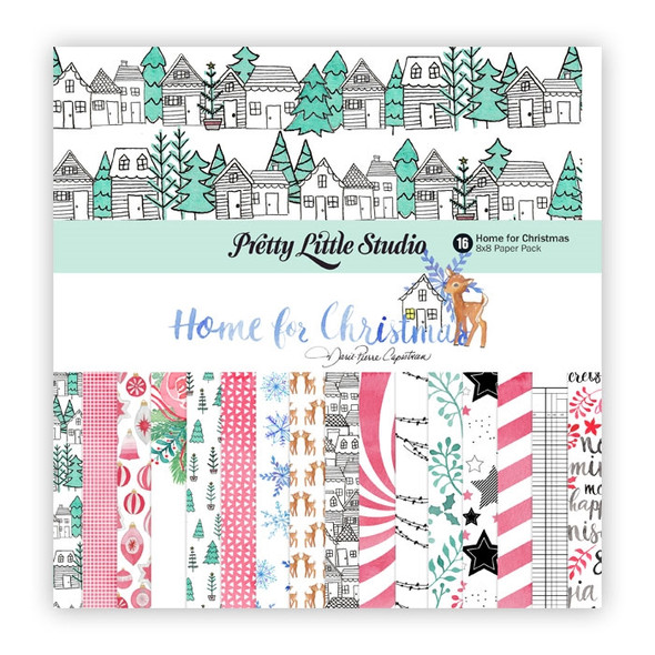 Paper Pack | Home for Christmas 8x8
