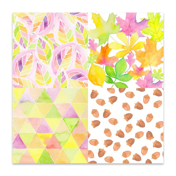 Paper   Fall Medley